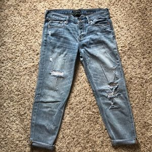 A&F Cropped BF Straight